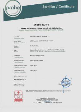 PRB-SYS-3834-2021-018 Form Metal
